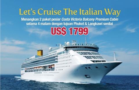 FILA & Costa, Let's Cruise The Italian Way!