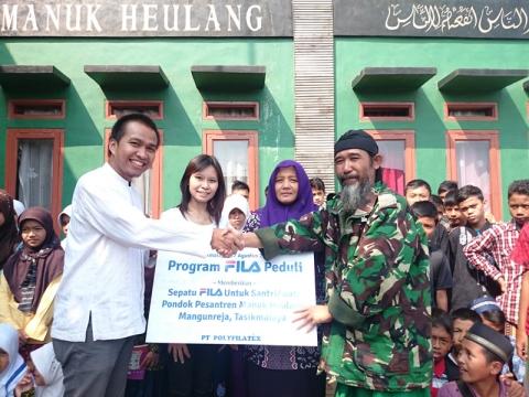 FILA Indonesia at Manuk Heulang Islamic Boarding School