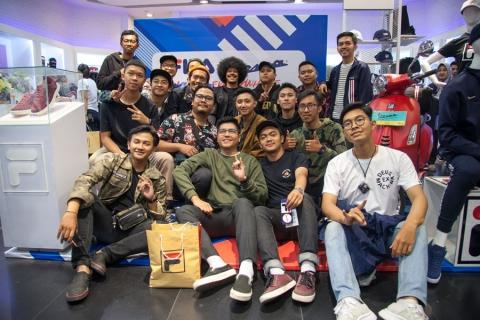 FILA Indonesia Announces FILA x Vespa Capsule Collection