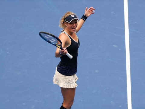 FILA Laura Siegemund Wins Women's Grand Slam Doubles U.S. Open