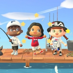 Koleksi Mini Capsule FILA di Animal Crossing: New Horizons