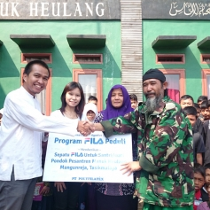 FILA Indonesia at Manuk Heulang Islamic Boarding School