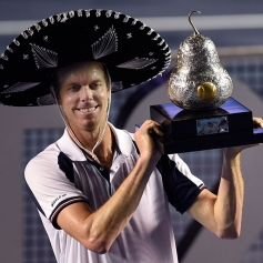 FILA Sam Querrey Wins Mexican Open