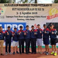 FILA BAVETI Indonesia Tennis Veterans 2018