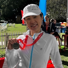 Lina Hardy Sydney Morning Herald Half Marathon Chris O'Brien Lifehouse Cancer Centre Australia.